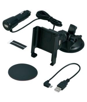 Универсальный держатель + З/У USB / microUSB Seiwa D-392