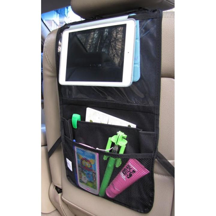 Органайзер на спинку сиденья с карманом для планшета Or17500BL